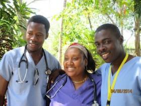 Haitian doctors